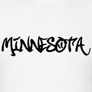Minnesota Grafitti T-Shirts - Men's T-Shirt