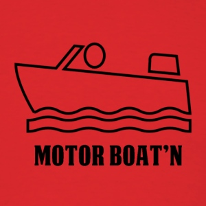 Motor Boat'n - Men's T-Shirt