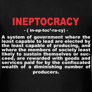 ineptocracy2 T-Shirts - Men's T-Shirt