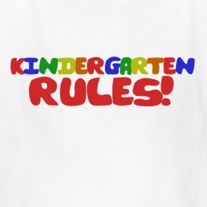 Kindergarten Rules - Kids' T-Shirt