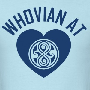 WHOVIAN AT HEART T-Shirts - Men's T-Shirt