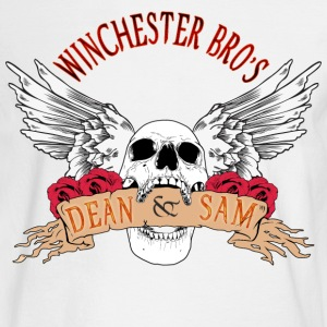 Winchester Bros Dean N Sam Death Angel 04 Long Sleeve Shirts - Men's Long Sleeve T-Shirt