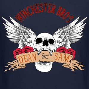 Winchester Bros Dean N Sam Death Angel 04 Long Sleeve Shirts - Crewneck Sweatshirt
