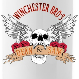 Winchester Bros Dean N Sam Death Angel 04 Bottles & Mugs - Water Bottle