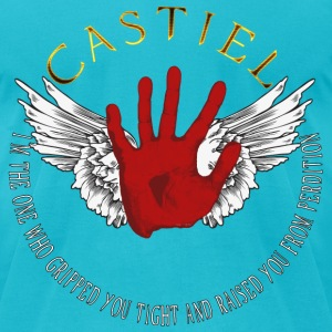 Castiel Divine hand 02 T-Shirts - Men's T-Shirt by American Apparel
