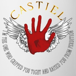 Castiel Divine hand 02 Bottles & Mugs - Coffee/Tea Mug