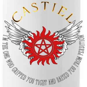 Castiel Protection Symbol 04 Bottles & Mugs - Water Bottle