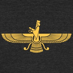 Faravahar, Zarathustra, Symbol of Higher Spirit T-Shirts