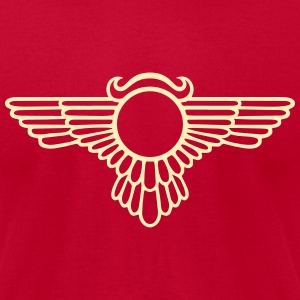 Winged Globe, symbol of the perfected soul T-Shirts - Men's T-Shirt by American Apparel