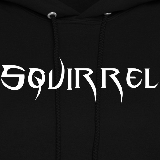 Womens Hooded Sweatshirt (Black)