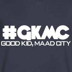 #gkmc T-Shirts - Men's V-Neck T-Shirt by Canvas