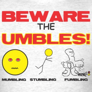 beware_umbles T-Shirts - Men's T-Shirt