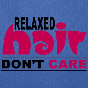Relaxed Hair Don't Care Bags & backpacks - Tote Bag
