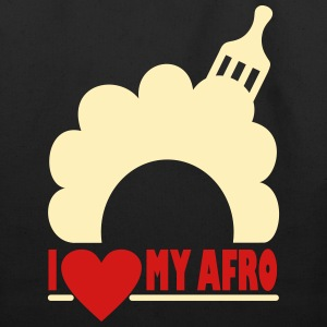 I Love My Afro Bags & backpacks - Eco-Friendly Cotton Tote