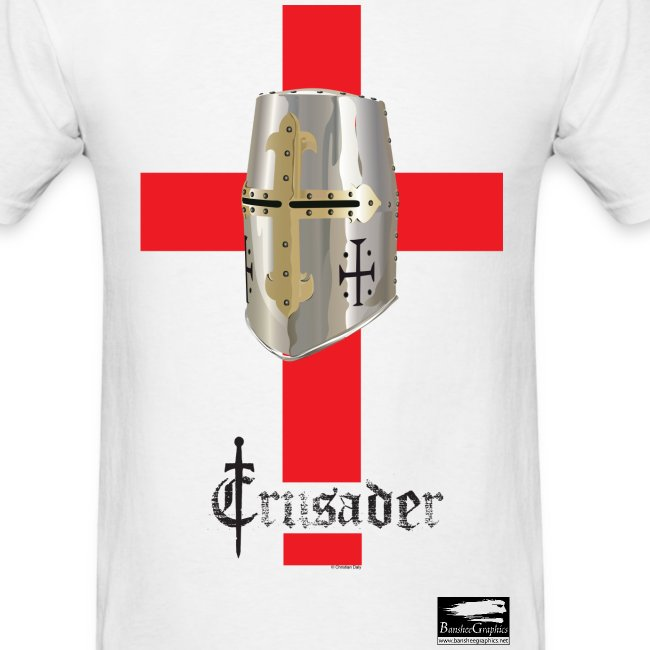 Crusader on White Men's Standard T