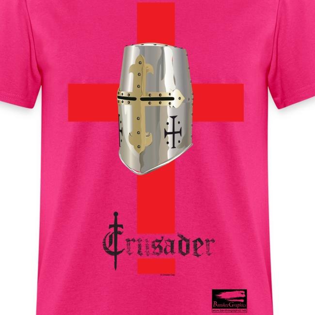 Crusader on White Men's Standard T