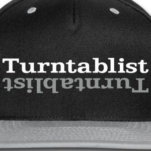 Turntablist ʇsılqɐʇuɹn⊥ Caps - Snap-back Baseball Cap