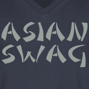 ASIAN SWAG - Men's V-Neck T-Shirt by Canvas