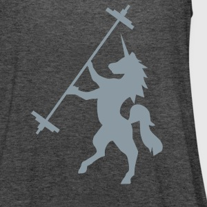Unicorn Barbell - AMRAP Style Tanks - Women's Flowy Tank Top by Bella