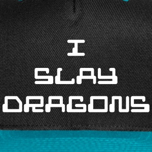 I Slay Dragons - Snap-back Baseball Cap