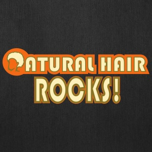 Natural Hair Rocks Bags & backpacks - Tote Bag
