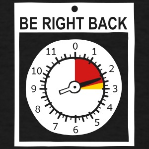 altimeter - be right back - Men's T-Shirt