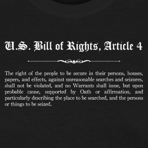 U.S. Bill of Rights - Article 4 T-Shirts - Women's T-Shirt