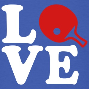 Ping Pong love T-Shirts - Men's T-Shirt
