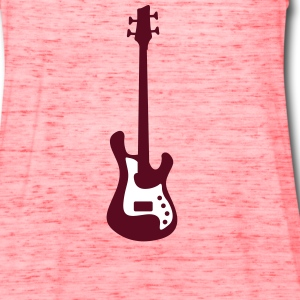 bass guitar Tanks - Women's Flowy Tank Top by Bella