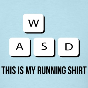 This Is My Running Shirt - Men's T-Shirt