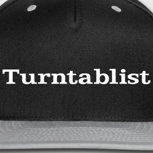 Turntablist Caps - Snap-back Baseball Cap
