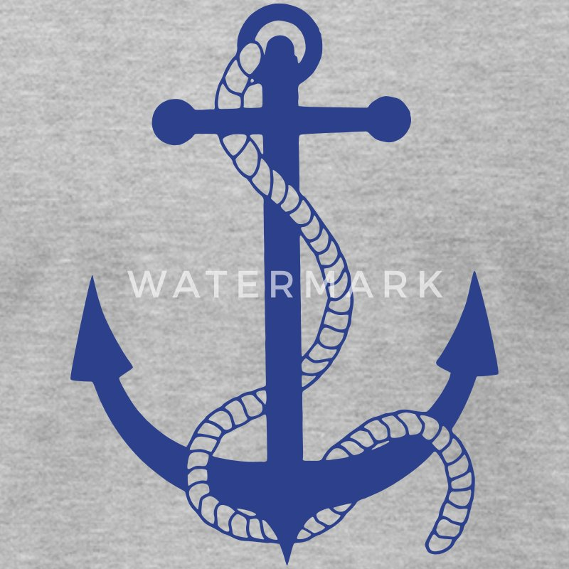 anchor ship boat harbour sailing captain sea T-Shirts - Men's T-Shirt by American Apparel