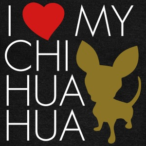 love_my_chihuaua Long Sleeve Shirts - Women's Wideneck Sweatshirt