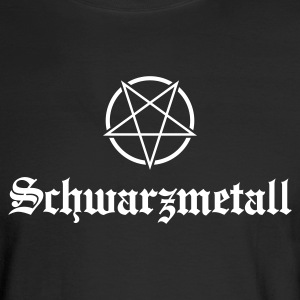 Schwarzmetall - German for Black Metal No.1 Long Sleeve Shirts - Men's Long Sleeve T-Shirt
