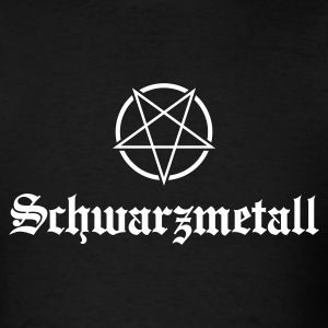 Schwarzmetall - German for Black Metal No.1 T-Shirts - Men's T-Shirt