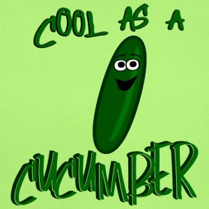 Cool As A Cucumber, Cartoon Cuke--DIGITAL DIRECT Baby & Toddler Shirts - Short Sleeve Baby Bodysuit