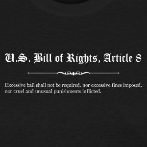 U.S. Bill of Rights - Article 8 T-Shirts - Women's T-Shirt