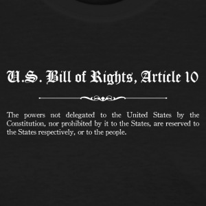 U.S. Bill of Rights - Article 10 T-Shirts - Women's T-Shirt