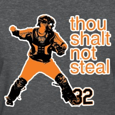 Matt Wieters: Thou Shalt Not Steal Women's Tee