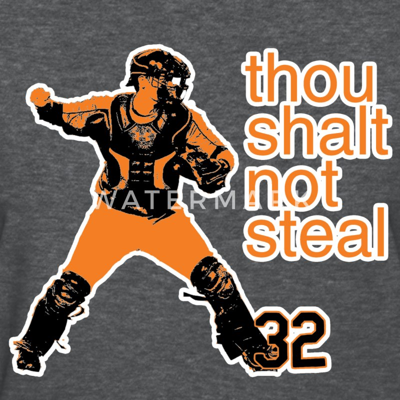 Matt Wieters: Thou Shalt Not Steal Women's Tee - Women's T-Shirt