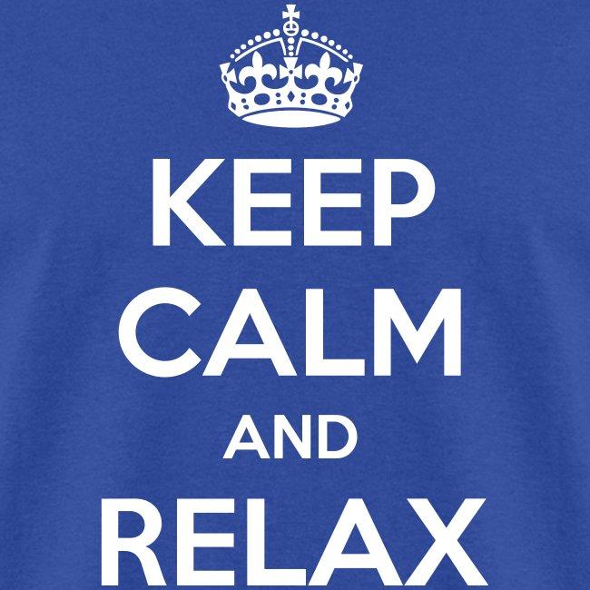keep calm shirts keep calm and relax mens t shirt