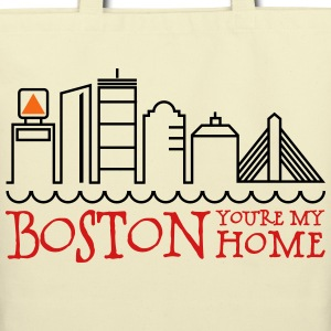 Boston, You're My Home Bags & backpacks - Eco-Friendly Cotton Tote