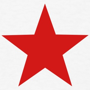 red star T-Shirts - Men's T-Shirt