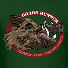 boars_hunter T-Shirts