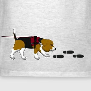 search beagle T-Shirts - Men's T-Shirt