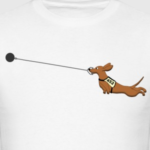 hammer Throw dog 1 T-Shirts - Men's T-Shirt