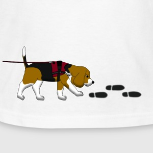 search beagle Kids' Shirts - Kids' T-Shirt