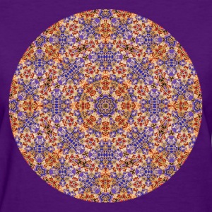 Purple and Gold Mandala  Women's T-Shirts - Women's T-Shirt