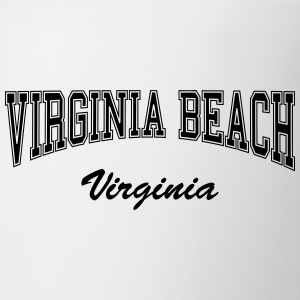 virginia beach college design Bottles & Mugs - Coffee/Tea Mug
