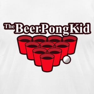 Beer Pong Champ - Men's T-Shirt by American Apparel